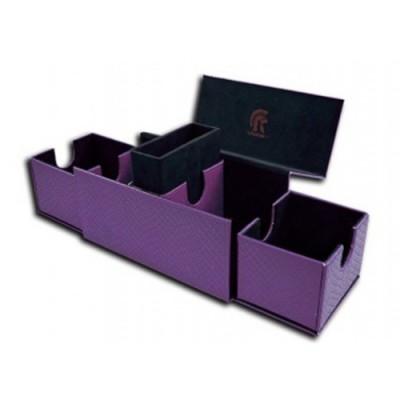 Boites de Rangements Accessoires Pour Cartes Deck Box - Dragon Hide - Vault V2 - Purple