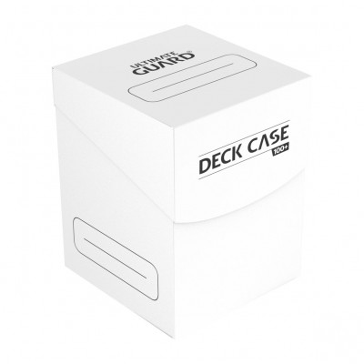 Boites de Rangements  Ultimate Guard - Deck Box 100+ - Blanc
