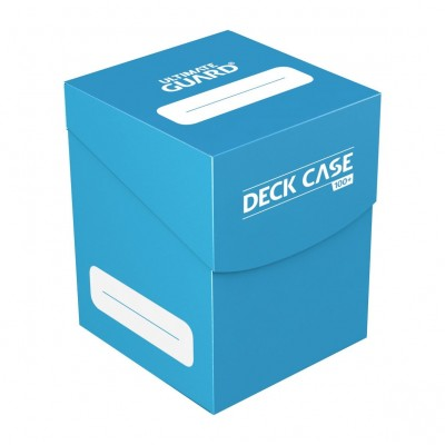 Boites de Rangements Accessoires Pour Cartes Ultimate Guard - Deck Box 100+ - Bleu Clair