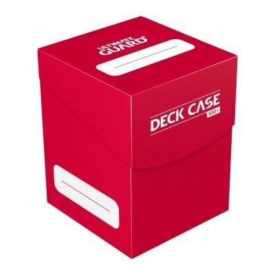 Boites de Rangements Accessoires Pour Cartes Ultimate Guard - Deck Box 100+ - Rouge