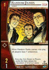 Marvel Origins - Cartes Vs System Autres jeux de cartes MOR-171 - Malfrats (C) - Vs System