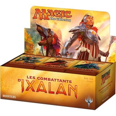 Boites de Boosters Magic the Gathering Les Combattants d'Ixalan - Boite De 36 Boosters