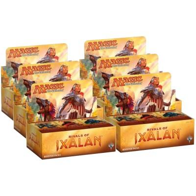 Boites de Boosters Magic the Gathering Rivals Of Ixalan - Carton De 6 Boites De 36 Boosters Magic - (en Anglais)