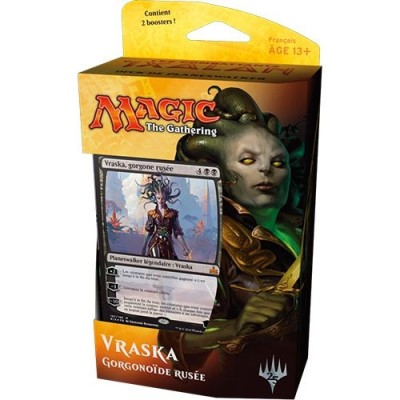 Decks Préconstruits Magic the Gathering Les combattants d'Ixalan - Deck Vraska, Scheming Gorgon - Planeswalker Deck