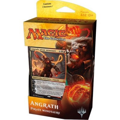 Decks Préconstruits Magic the Gathering Les combattants d'Ixalan - Deck Angrath, pirate minotaure - Planeswalker Deck