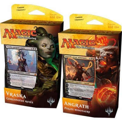 Decks Préconstruits Magic the Gathering Rivals Of Ixalan - Lot Des 2 Planeswalker Deck