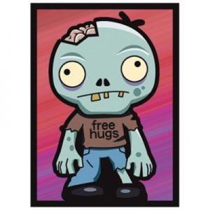 Protèges Cartes illustrées  50 Pochettes - Zombie Hugs