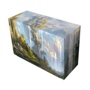 Boites de rangement illustrées Accessoires Pour Cartes Deck Box Double - Veiled Kingdoms : Crown Oasis