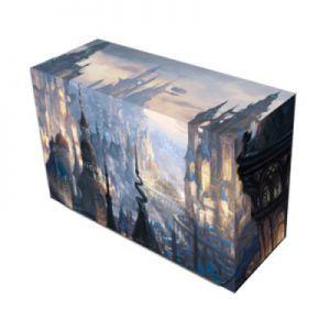 Boites de rangement illustrées Accessoires Pour Cartes Deck Box Double - Veiled Kingdoms : St Levin