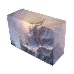 Boites de rangement illustrées Accessoires Pour Cartes Deck Box Double - Veiled Kingdoms : Vast