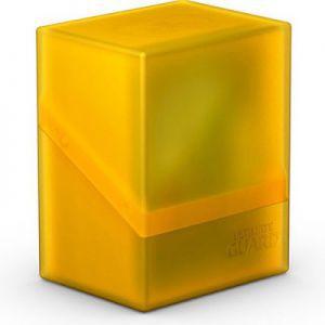 Boites de Rangements  Deck Box Ultimate Guard - Boulder 80+ - Jaune/Ambre - Acc