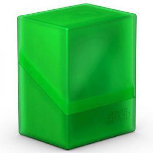 Boites de Rangements Accessoires Pour Cartes Deck Box Ultimate Guard - Boulder 80+ - Vert/Emeraude - Acc