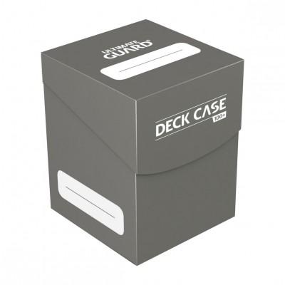 Boites de Rangements Accessoires Pour Cartes Ultimate Guard - Deck Box 100+ - Gris