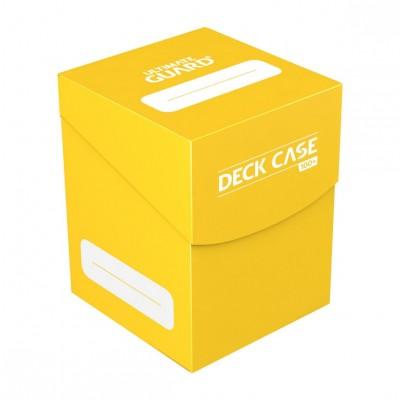 Boites de Rangements Accessoires Pour Cartes Ultimate Guard - Deck Box 100+ - Jaune - Acc