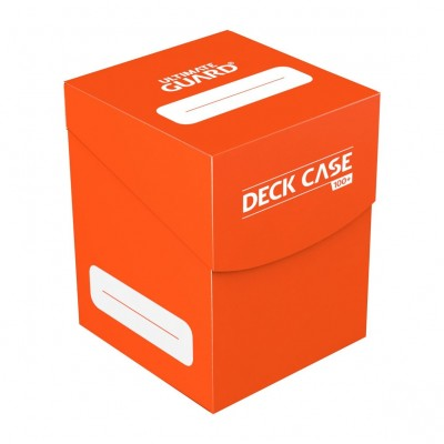 Boites de Rangements Accessoires Pour Cartes Ultimate Guard - Deck Box 100+ - Orange