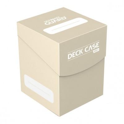 Boites de Rangements Accessoires Pour Cartes Ultimate Guard - Deck Box 100+ - Sable - Acc