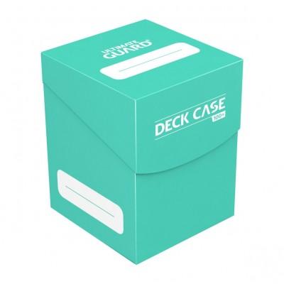 Boites de Rangements Accessoires Pour Cartes Ultimate Guard - Deck Box 100+ - Turquoise