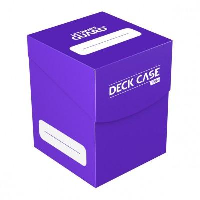 Boites de Rangements Accessoires Pour Cartes Ultimate Guard - Deck Box 100+ - Violet - Acc