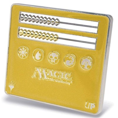 Dés et compteurs Accessoires Pour Cartes Ultra Pro - Life Counter - Abacus - Gold - Magic The Gathering - ACC
