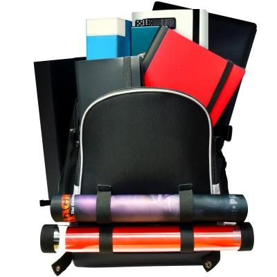 Boite de Rangement  Box Ultra Pro - Citadel Backpack - Sac à dos/Malette - Noir bordure argent - ACC