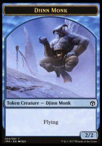 Tokens Magic Token/jeton - Iconic Masters - 04/7 Djinn Et Moine
