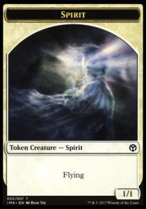Token Magic Magic the Gathering Token/jeton - Iconic Masters - 03/7 Esprit