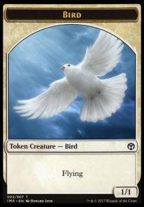 Token Magic Token/jeton - Iconic Masters - 02/7 Oiseau