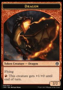 Tokens Magic Magic the Gathering Token/jeton - Iconic Masters - 05/7 Dragon