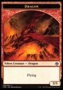 Tokens Magic Token/jeton - Iconic Masters - 06/7 Dragon