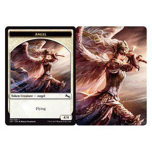 Token Magic Magic the Gathering Token/Jeton Foil - Unstable - Angel