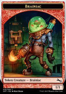 Tokens Magic Token/Jeton Foil - Unstable - Brainiac