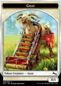 Tokens Magic Accessoires Pour Cartes Token/Jeton Foil - Unstable - Goat
