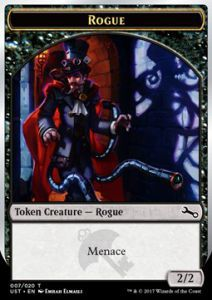 Tokens Magic Magic the Gathering Token/Jeton Foil - Unstable - Rogue