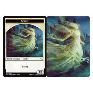 Tokens Magic Magic the Gathering Token/Jeton Foil - Unstable - Spirit