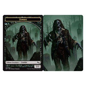 Tokens Magic Magic the Gathering Token/Jeton Foil - Unstable - Zombie