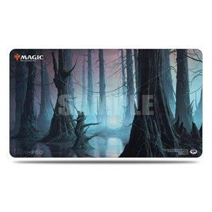 Tapis de Jeu Magic the Gathering Playmat - Unstable - Marais - Noir