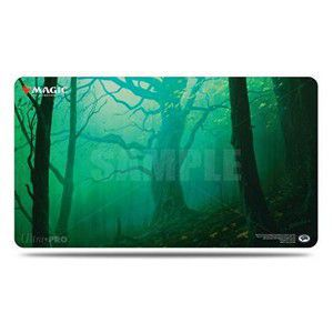 Tapis de Jeu Magic the Gathering Unstable - Playmat - Foret - Vert