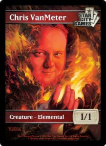 Tokens Magic Magic the Gathering Token/jeton - ELEMENTAL - Star City Games - (CHRIS VANMETER)