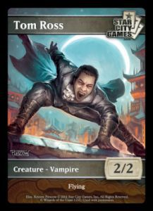 Tokens Magic Magic the Gathering Token/jeton - VAMPIRE - Star City Games - (TOM ROSS)