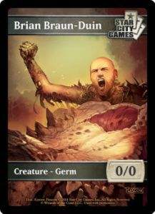 Tokens Magic Accessoires Pour Cartes Token/jeton - GERM - Star City Games - (BRIAN BRAUN-DUIN)