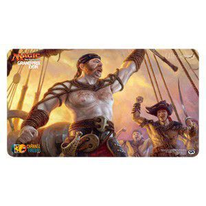 Tapis de Jeu Magic the Gathering Playmat Promo - Grand Prix Judge - Lyon 2017 - Fathom Fleet Captain