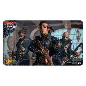Tapis de Jeu Magic the Gathering Playmat Promo - Grand Prix Judge - Lyon 2017 - Deadeye Plunderers