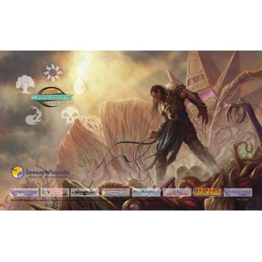 Tapis de Jeu Magic the Gathering Playmat Promo - Grand Prix - Washington DC 2010