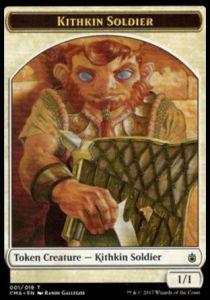 Tokens Magic Token/Jeton - Modern Masters - kithkin soldier