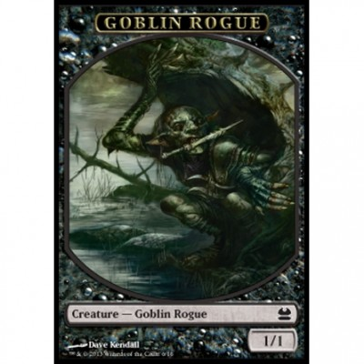 Tokens Magic Magic the Gathering Token/Jeton - Modern Masters - 06/16 Gobelin et Gredin