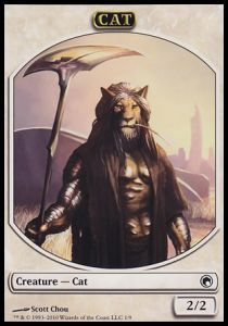 Token Magic Magic the Gathering Token/Jeton - Cicatrices De Mirrodin - Chat (Italien)