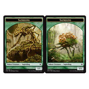 Tokens Magic Magic the Gathering Token/Jeton - Commander 2016 - Double: saprobionte /saprobionte