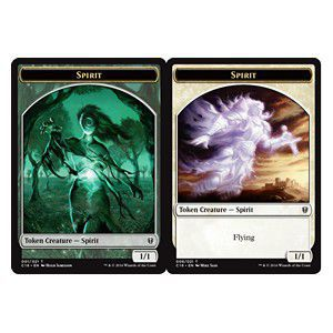 Tokens Magic Magic the Gathering Token/Jeton - Commander 2016 - Double: Esprit / Esprit