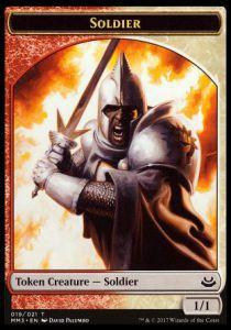 Tokens Magic Accessoires Pour Cartes Token/Jeton - Modern Masters 3 - Soldat