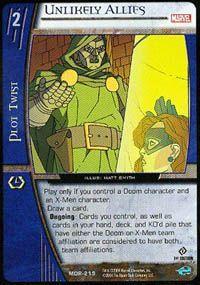 Marvel Origins - Cartes Vs System MOR-219 - Alliés Improbables (U) - Vs System